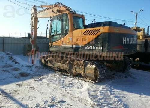 Экскаватор HYUNDAI R 220LC-9S
