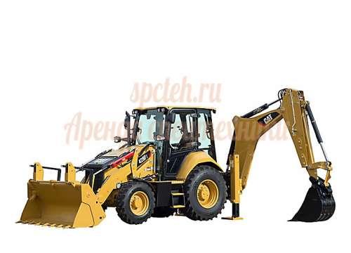 Экскаватор-погрузчик CAT428F2